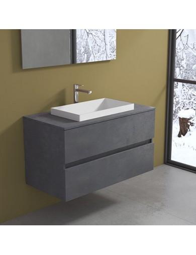 Mobile Evo 54 cm100 con lavabo Ely60 Progettobagno