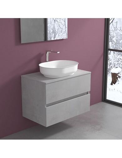 Mobile Evo 54 cm80 con lavabo Nicole Oval Progettobagno
