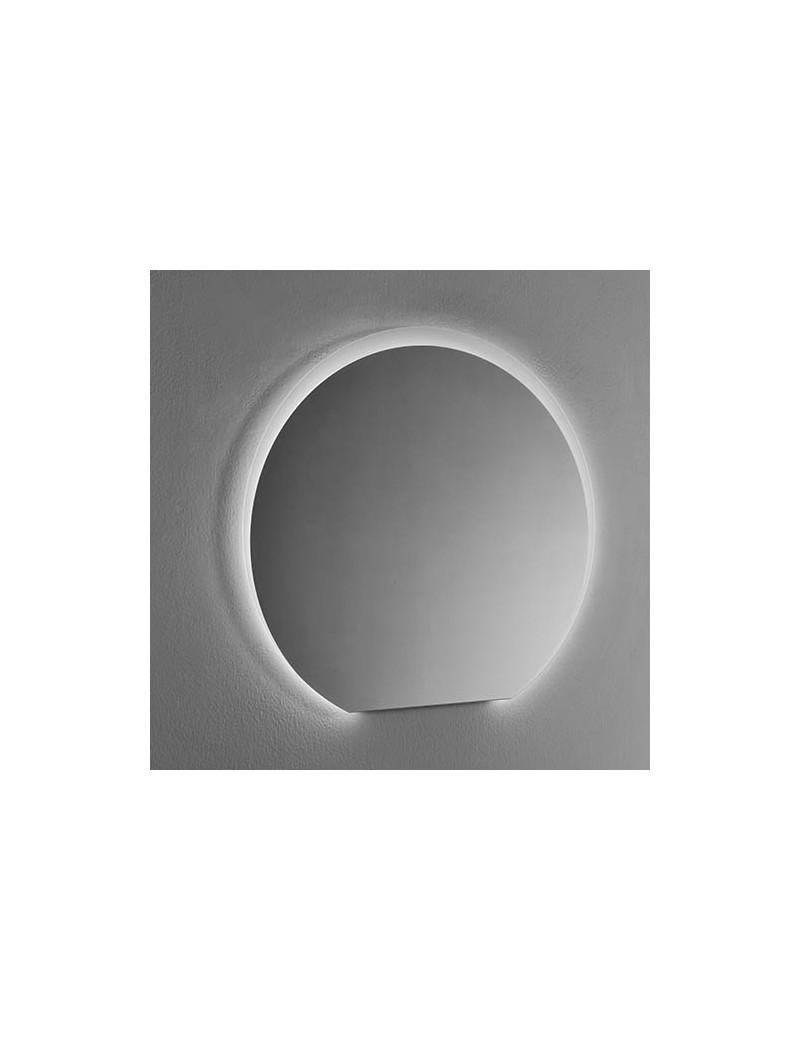 specchio round90 led filo lucido progettobagno