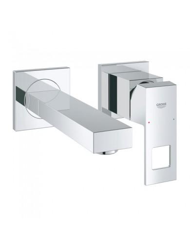 miscelatore lavabo eurocube a 2 fori taglia s grohe