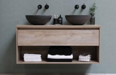 Lavabi d'arredo per il bagno:  ceramica, cristallo o mineralmarmo?